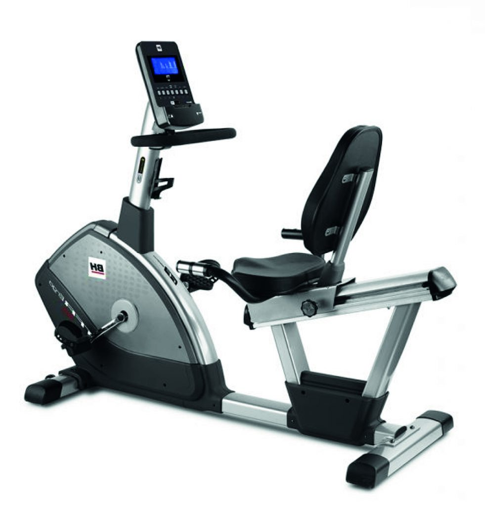 Hire deluxe home recumbent exercise bike