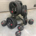 Black Olympic Weight Set
