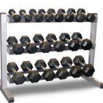 Hex Dumbell Set & Rack