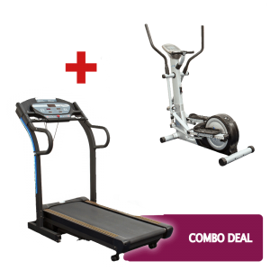 Treadmill and cross trainer 4 October 2019