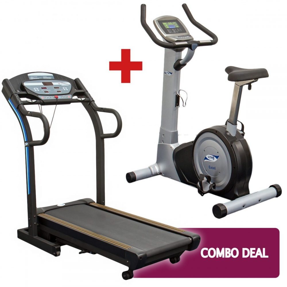 Treadmill and Exercise Bike Combo Deal