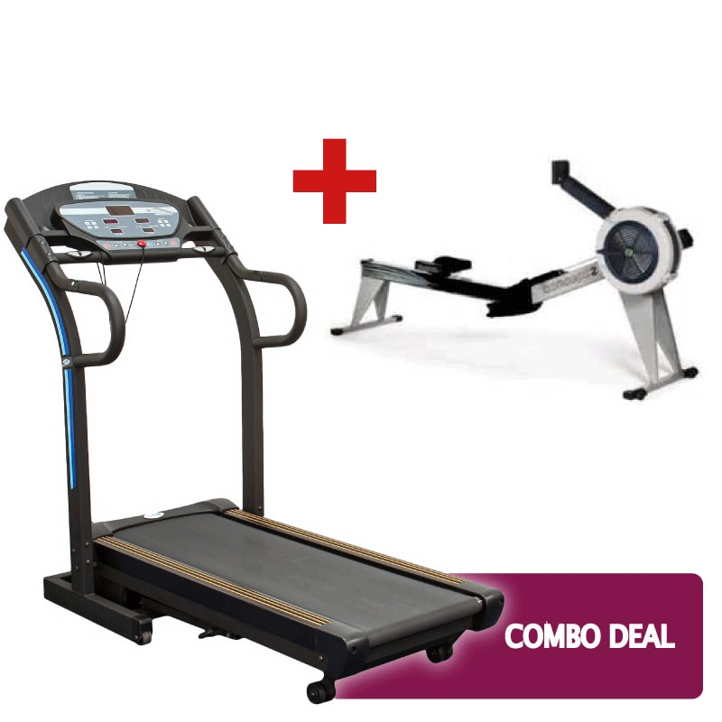 Treadmill and Concept 2 Combo Deal