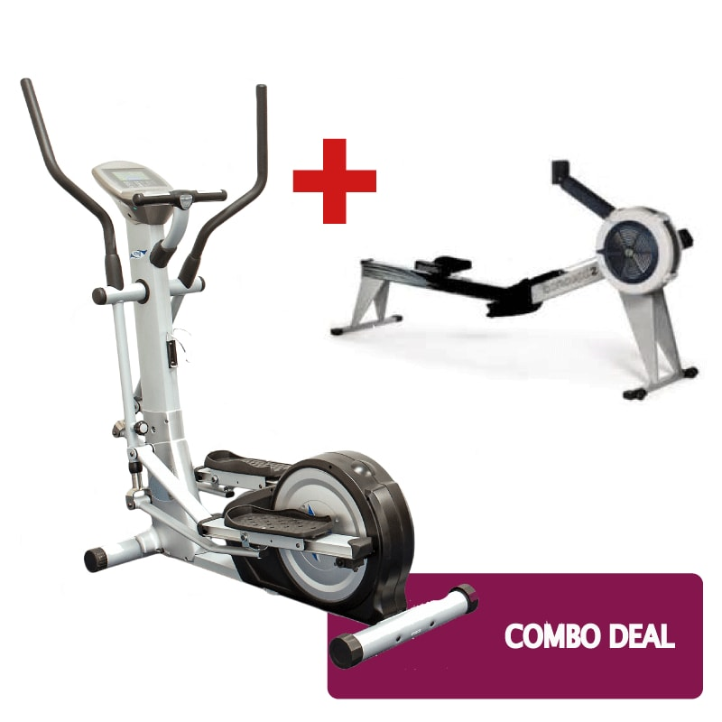 Concept 2 and Cross Trainer Combo Deal